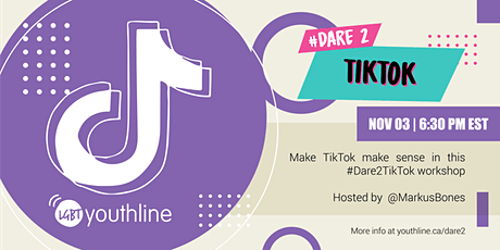 #Dare2TikTok tickets