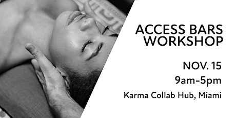 November 15: Access Consciousness Bars® Workshop tickets