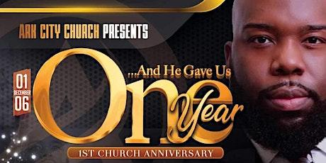 Ark City Church One Year Anniversary Celebration tickets