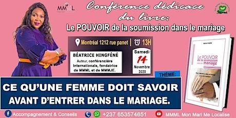 LE POUVOIR DE LA SOUMISSION DANS LE MARIAGE billets