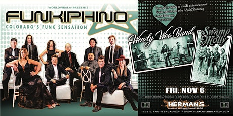 DINNER + A SHOW (featuring: FUNKIPHINO w/ Wendy Woo Band | Swamp Molly) tickets
