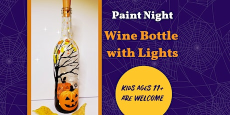 Paint a Wine Bottle with Fairy Lights! tickets