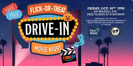 Flick or Treat Drive-In Movie Night tickets