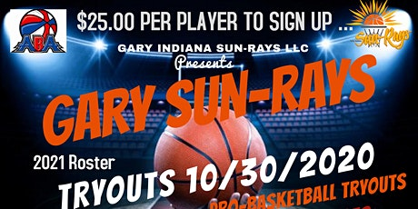 ABA - Gary Sun-Rays Pro-Basketball (TRYOUTS!) (AFTERNOON SESSION) tickets