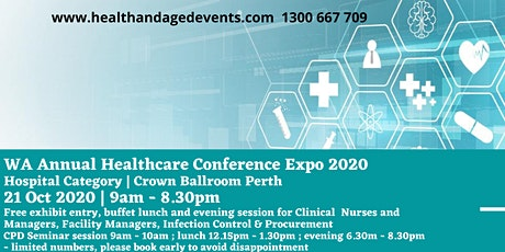 WA Healthcare Conference Expo 2020 - Hospital Category tickets