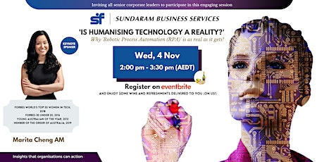 Is Humanising Technology a Reality? Why RPA is as real as it gets! tickets