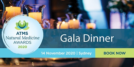 ATMS Natural Medicine Awards Gala Dinner 2020 tickets