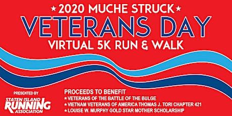 Muche Struck Veterans Day Virtual 5K Run & Walk tickets