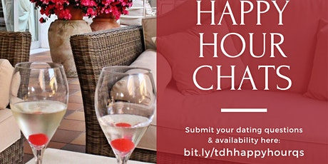 Toronto Dating Hub - Nov Happy Hour Virtual Chat tickets