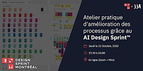 Atelier pratique d'amélioration des processus grâce au AI Design Sprint™ tickets