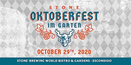 Stone Oktoberfest im Garten | Escondido tickets