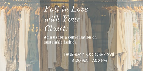 Fall In Love With Your Closet tickets