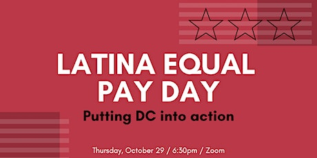 Latina Equal Pay Day 2020 tickets