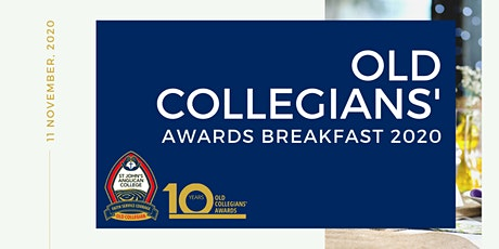 St John's Old Collegians' 2020 Awards Breakfast tickets