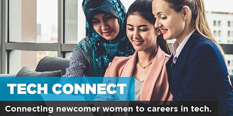 YWCA Tech Connect Info Session – a FREE Program for Newcomer Women in Tech tickets