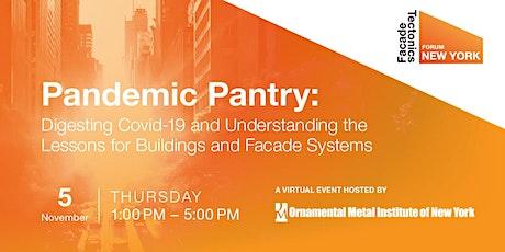 Facade Tectonics Forum: NYC tickets