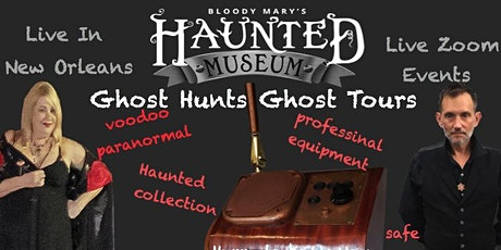 Virtual Ghost Hunting : Voodoo Paranormal New Orleans Event tickets