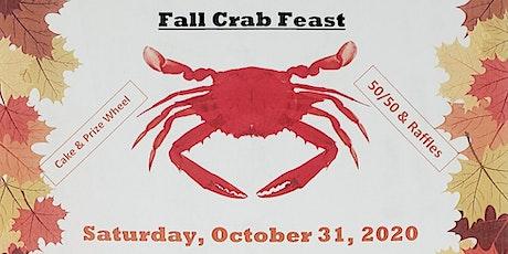 Fall Crab Feast tickets
