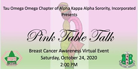 Pink Table Talk Virtual Breast Cancer Awareness Event tickets