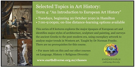 An Introduction to European Art History tickets