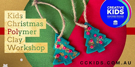 Kids Christmas Polymer Clay Workshop tickets