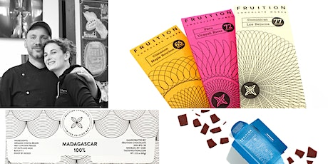 Virtual chocolate tasting and talk with Fruition Chocolate tickets