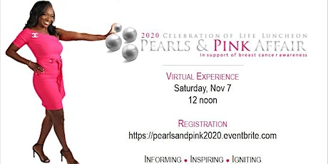 Virtual Celebration of Life - Pearls & Pink Affair (18th Anniversary) tickets