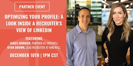 Optimizing your Profile: A Look Inside a Recruiter's View of LinkedIn tickets