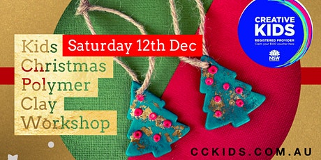 Saturday 12th Dec Kids Christmas Polymer Clay Workshop tickets