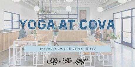 Yoga at COVA tickets