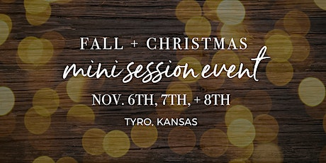 Fall + Christmas Mini Session Event tickets