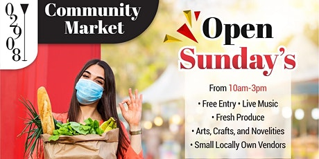 02908 Community Market tickets