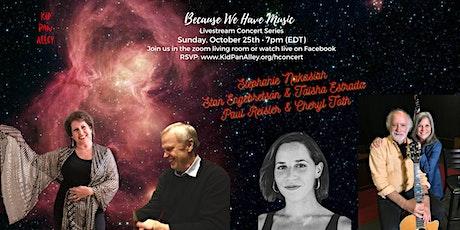 Stephanie Nakasian, Stan Engebretson & Taisha Estrada,  Paul Reisler tickets