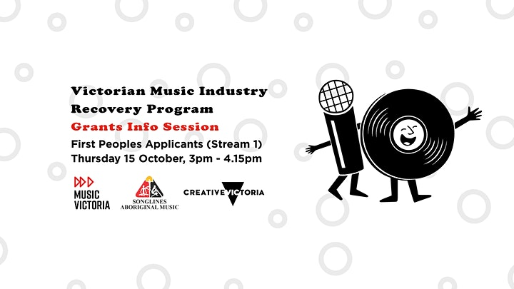 Victorian Music Industry Recovery Program Grants Session: First Peoples image
