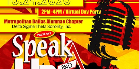 Speak Up & Vote :  A Conscious  Day Party tickets