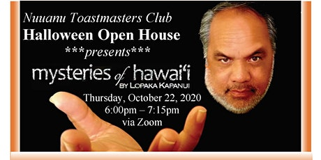 "Nuuanu Toastmasters Club ""Halloween Open House"" tickets"