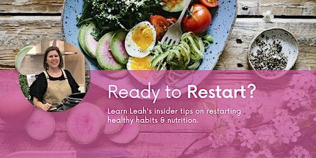 Ready to Restart Your Health? Underwood tickets
