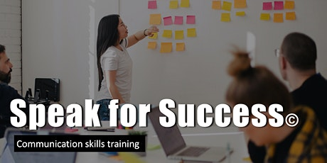 Unlimited public speaking practice for 3-months with Speak for Success! tickets