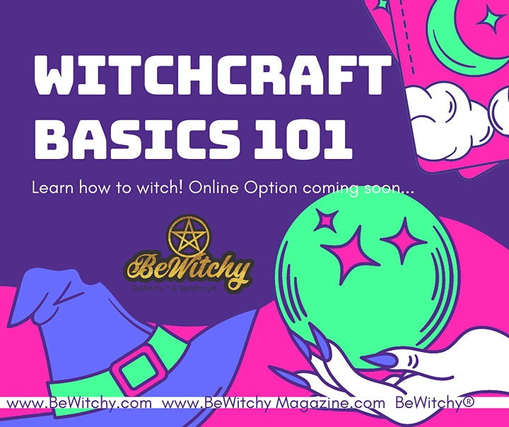 BeWitchy Magic Basics for Beginners image