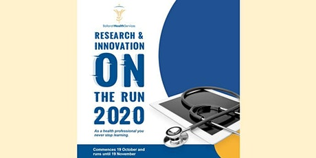 """BHS Research & Innovation """"On the Run"""" 2020 Series - SESSION 5 tickets"""