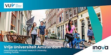 Estudia en Vrije Universiteit Amsterdam - sesión informativa en línea tickets