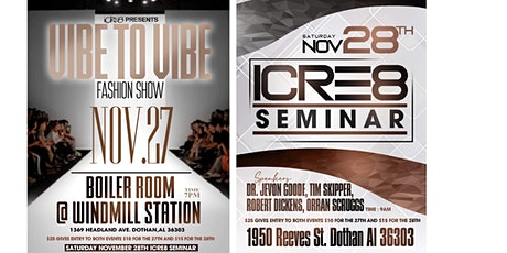 iCRE8 tickets