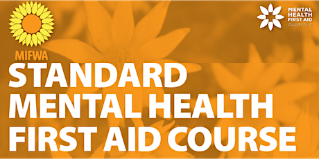 Standard Mental Health First Aid Course tickets