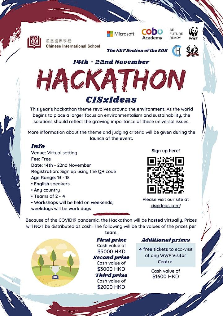 CISxIdeas Hackathon 2020 image