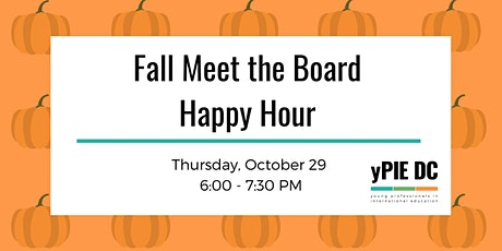 yPIE DC Fall Meet the Board Happy Hour tickets