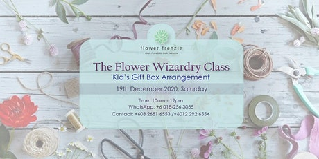 Flowerista Academy Class - Kid's Gift Box Arrangement tickets