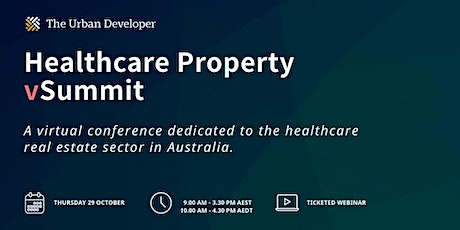 The Urban Developer Healthcare Property vSummit tickets