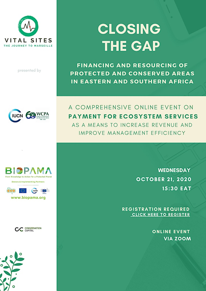 CLOSING THE FINANCIAL  GAP : Payment for Ecosystem Services image