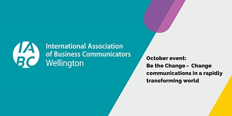 Be the Change: Change communications in a rapidly transforming world tickets