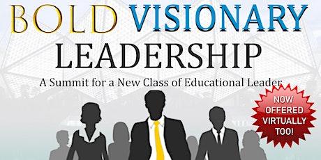 BOLD VISIONARY LEADERSHIP SUMMIT/ HU HOMECOMING 2020 tickets